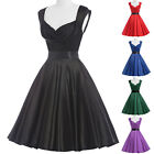 Grace Karin Vintage Retro 50s PIN UP Swing Housewife Party PROM Dress