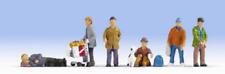 Noch 15290 Hobos (Homeless) Pk6 HO Gauge Figures Set