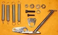 Throttle Return Spring Kit For Carburetor Fits Sbc Bbc Chevy Ford Holley Chrome