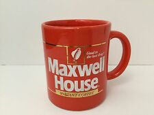 Vintage Maxwell House Instant Coffee Mug Good To The Last Drop