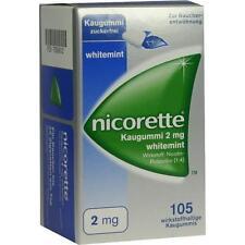 NICORETTE Kaugummi 2 mg whitemint 105 St PZN 7353612