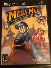 Mega Man Anniversary Collection (Sony PlayStation 2, 2004) Complete
