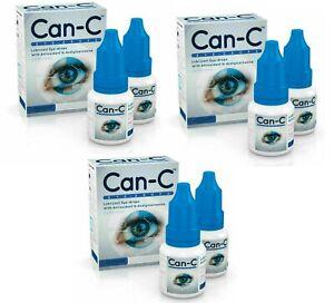 Can-C Eye Drops 6 x 5ml Lubricant Eye Drop with Antioxident **EXPIRY DEC 21**