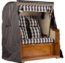 Abdeckhaube für Mahagoni Luxus Strandkorb 2,5-Sitzer Strandkorbabdeckung