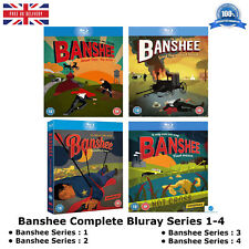 Banshee Series 1-4 Complete Collection 1 2 3 4 Brand New and Sealed UK Blueray