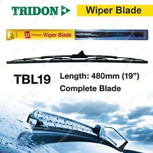 Tridon Driver Side Complete Wiper Blade 480mm for Nissan Patrol GQ GU 92 - 04