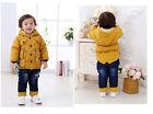 Garçon Petit Enfant Manteau D'hiver Chaud Extra Chaud Taille Veste 1-16