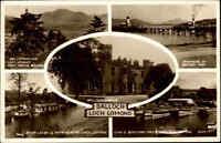 Postcard ~1950/60 Schottland Scotland Multi-View Card BALLOCH Loch Lomond AK