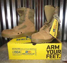 USMC MARSOC BELLEVILLE 550 ST Steel toe Boots Mens 9 R REGULAR Hot weather