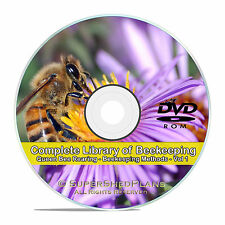 The Library of Beekeeping, Rearing Queen Bees, How to Make Honey, Care, CD V57