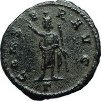 CLAUDIUS II Gothicus Ancient 268AD Antioch Roman Coin SERAPIS Osiris Apis i66567