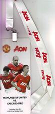 2011/12    Chicago Fire    v    Manchester United    VIP Lanyard