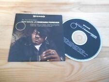 CD Pop Roy Davis Jr. - Chicago Forever (12 Song) Promo UBIQUITY REC cb
