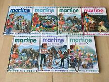 lot 7 Livres MARTINE - collection petit format Atlas