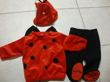 Infant First Moments LADY BUG HALLOWEEN costume, 6 - 9m