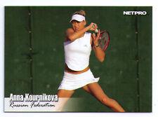 2003 Anna Kournikova rookie tennis trading card Russia Russian USSR Soviet Union