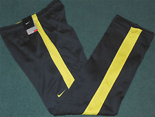 NWT Mens Nike L Navy Blue/Yellow Therma-Fit Stay Warm Athletic Pants Large