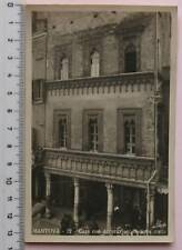 cartolina Lombardia - Mantova casa con decorazioni in terracotta - f/p anim 6722
