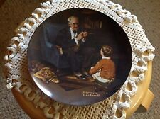 "Knowles Plate, Norman Rockwell, ""The Tycoon"", In Box, but no papers."