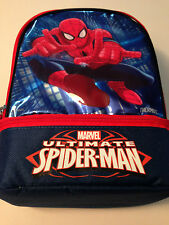 Spiderman Thermos Dual Compartment Lunch Bag NEW NWT NYC Seller GREAT FOR CAMP!!