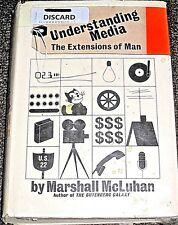 Understanding Media The Extensions Of Me By Marshall Mcluhan 1964 2nd Printing