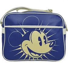 Mickey Mouse Oficial Disney Retro Pop Art Azul Bolso Messenger de Hombro
