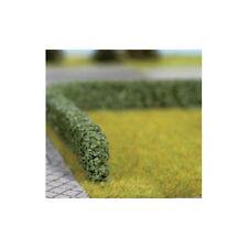 NOCH Dark Green Model Hedges 5x1.5x0.8cm (2) HO Gauge Scenics 21514