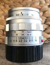 Leica SUMMILUX-M 50mm f/1.4 2nd Ver Silver Year 1966