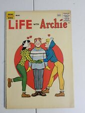 LIFE WITH ARCHIE #7 F- CLASSIC  COVER RARE HTF Silver Age ISSUE 1961