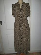 Marks and Spencer Collar Short Sleeve Dresses Midi