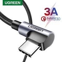 Ugreen 90 Grad Winkel USB C Ladekabel USB Type C Kabel für Samsung HTC 0.5M-2M
