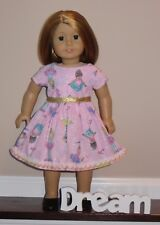 """Handmade Doll Clothes fits/for 18 in. American Girl ~ """"Sparkly Ballerina"""" Dress"""