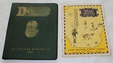 Desco Diving Helmet Water Skis Sports & Skin 1950 Full Catalogs Maritime L89