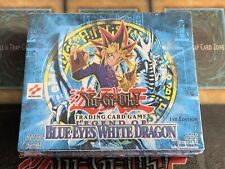 Yugioh Legend of Blue-Eyes White Dragon 1ST EDITION Factory Sealed Booster Box!