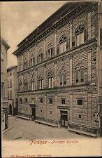 Florenz Firenze Italy Tuscany AK ~1900 Palazzo Rucellai Schloss Palast Postcard