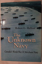 WW2 Canadian Merchant Navy Canada's Unknown Navy Reference Book