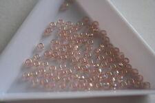 Transparent Rainbow Rosaline Toho Seed Beads. Size 8 3mm. 300 beads. #7315