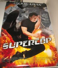 ROLLED 1996 SUPERCOP DOUBLE SIDED MOVIE POSTER JACKIE CHAN MICHELLE KHAN ACTION