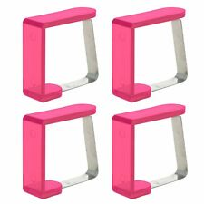 8 Coloured Tablecloth Clamps Table Clips Holder Cloth Grips Wedding Picnic Party