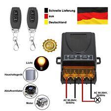 Wireless Licht Schalter 30-50m F...