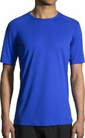 Brooks Ghost Short Sleeve Mens Running Top - Blue