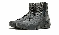 Nike Kobe IX 9 Elite High FTB SZ 8.5 Fade To Black Anthracite Bryant 869455-002