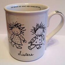 """Children Of The Inner Light """"Sisters"""" Large Mug Black & White - Great Gift!"""
