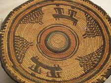 Vintage African Basket  African Art 12.25 Inch  1940-50's?