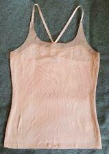 New EDUN cotton nude peach racer back tank top Size S/P