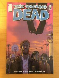 Walking Dead #18: Image Comics Robert Kirkman Charlie Adlard. First Print Key!