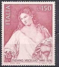 Italia 1976 4° centenario morte di Tiziano Vecellio MNH