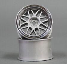 Kawada 1/12 RC Car MINI WHEELS Rims MESH PLATED  TUM26P (2PCS)
