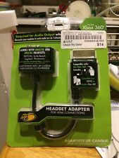 New Unopened Mad Catz Xbox 360 HDMI Headsets Adapter Both Digital & Analog AV