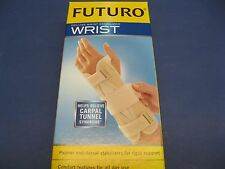 Futuro Deluxe Wrist Stabilizer L-Extra large LEFT Hand Carpal Tunnel Syndrome